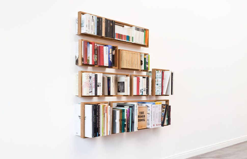The Small B A Minimalist Bookshelf By German Based Designer Holon ID