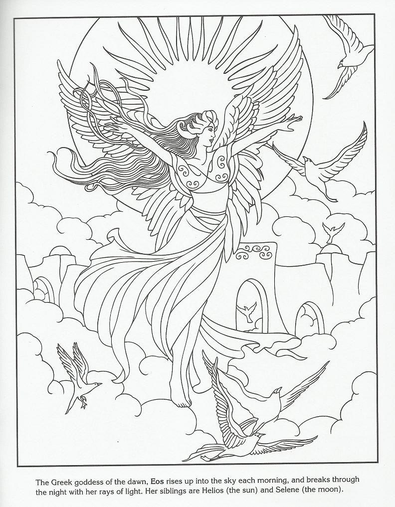 Eos Greek Goddess of the Dawn