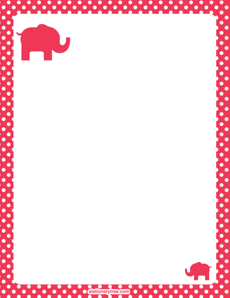 Fun and free printable stationary to brighten up your letters to – Free Printable Lined Stationary