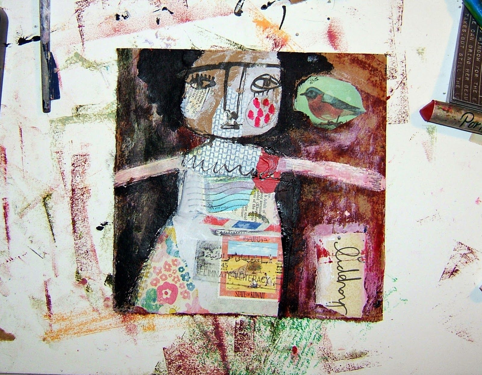 80decf74de Collage art bliss video! from Magaly Ohika on Vimeo . | collage fine ...