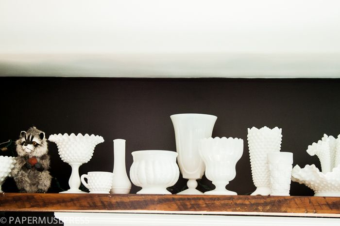 Love the contrast - must remember for my white dishes!