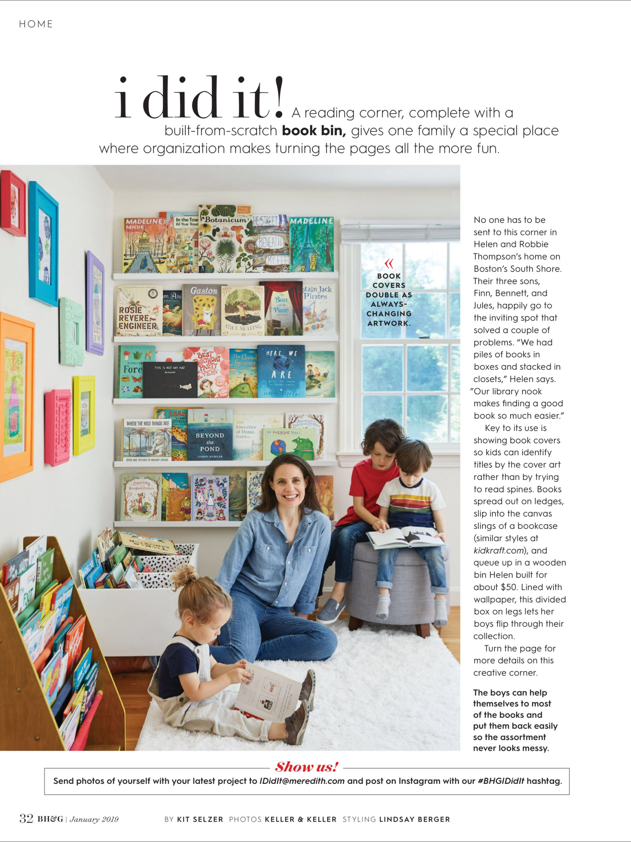 I Did It From Better Homes And Gardens January 2019 Read It On