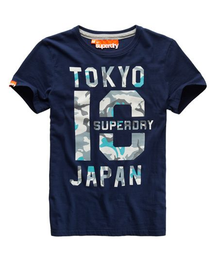 Superdry Mid Point T-shirt - Mens Sale - View All  445f0a46c3