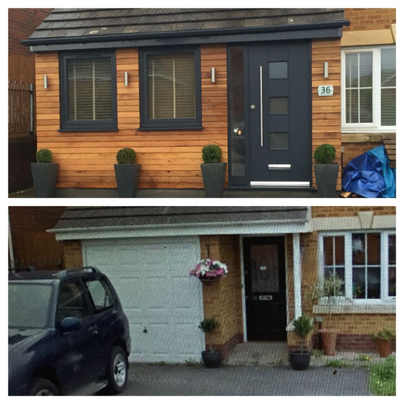 Remodeling Your Garage Garage Remodel House Cladding Exterior