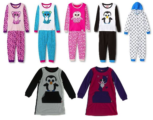 Target are now selling Beanie Boo pajamas!  8d6b137e5