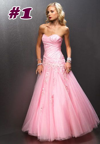 pretty pink prom dresses | things i like | Pinterest | Prom, Grad ...