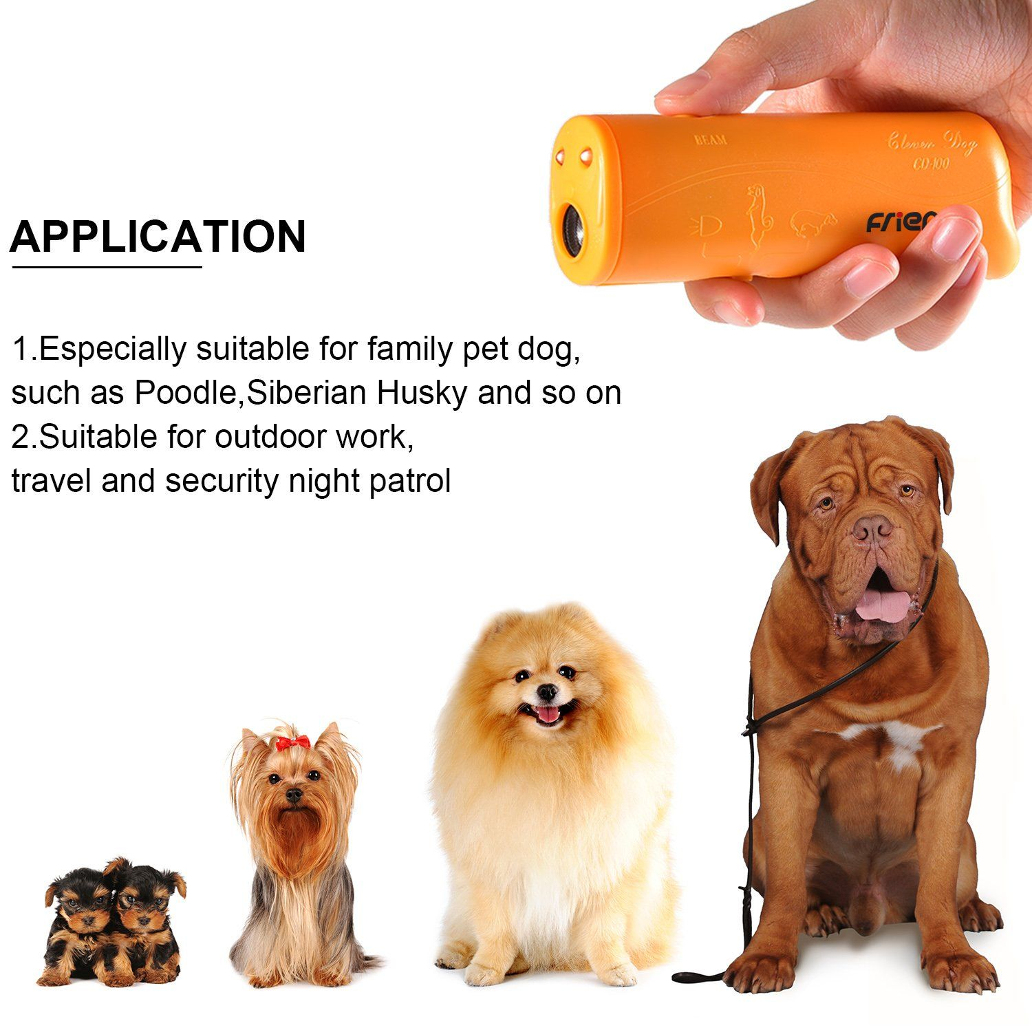 Aawsome New Automatic Ultrasonic Static Dog Electric Shock Stop Device Trainer