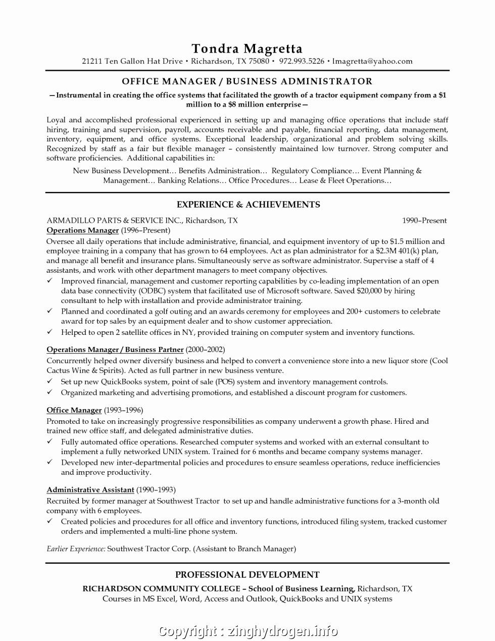 20 Assistant Manager Resume Description Job Resume Examples