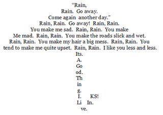 Easy Concrete Poems 3