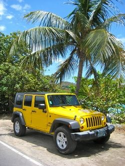 Jeep Rental On St John