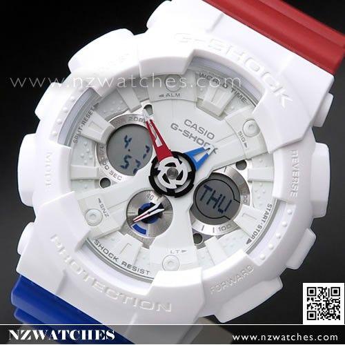 Casio G-Shock Tricolor Analog Digital Limited Sport Watch GA-120TRM ... ac295a91b719