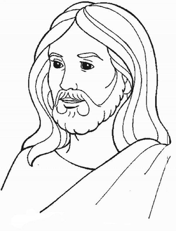 Resultado de imagen para jesus para colorear | jesus color ...