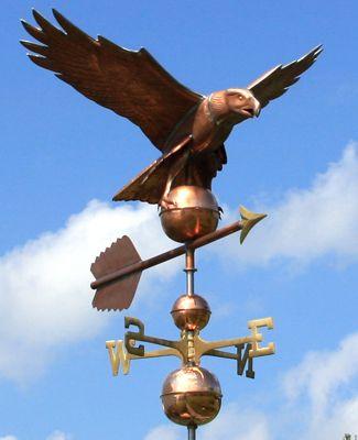 Copper Eagle Weathervane 131 Weathervanes Chimney Cap Copper