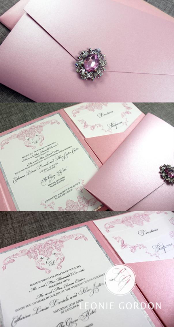 Leonie-Gordon-London-Luxury-Bespoke-Pink-Pocketfold-Wedding ...