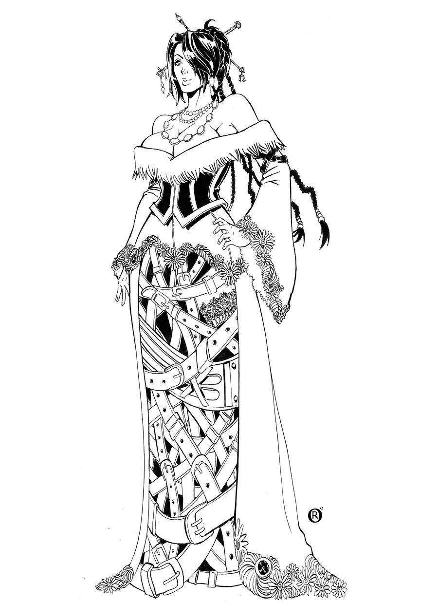 Lulu Final Fantasy X By Shonemitsu Deviantart Com Lulu