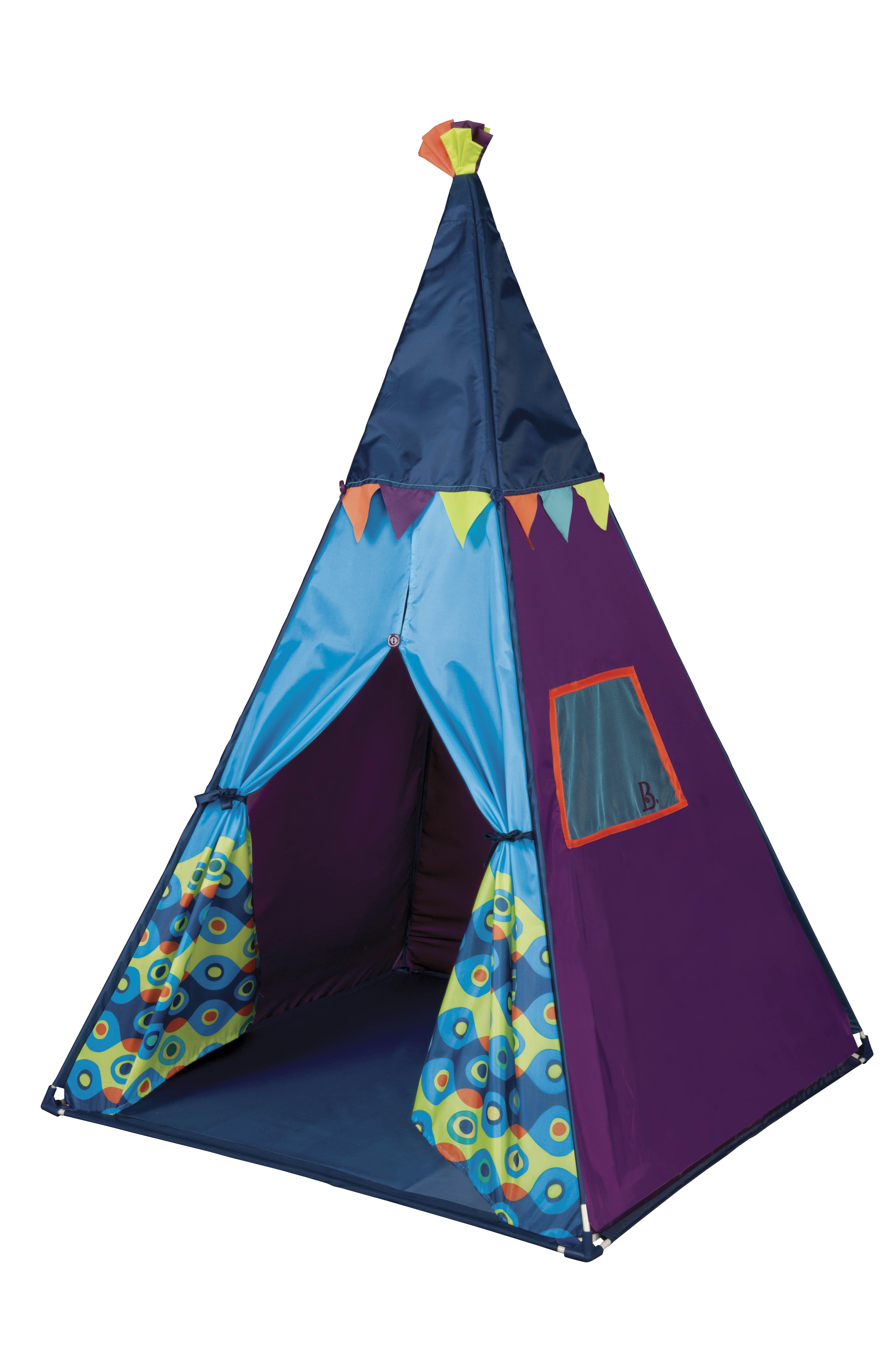 B Teepee Kids Play Tent Lights Up Inside Kids Stuff