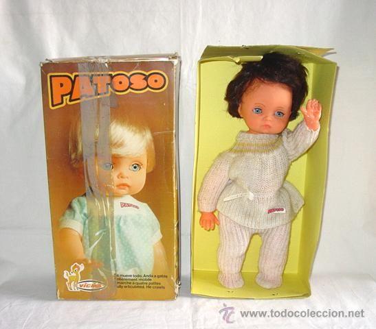 Muñeco Patoso de Vicma. Caja y todo original. Años 70