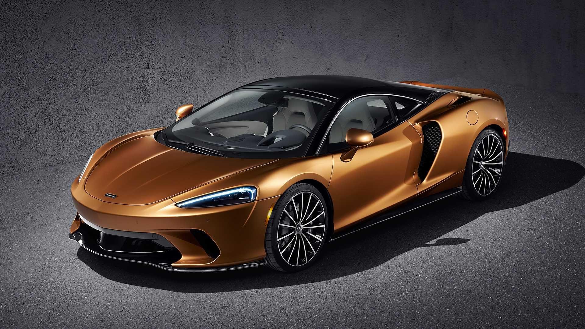 Mclaren Gt Do Yin Super Araba Otomobil Spor Arabalar