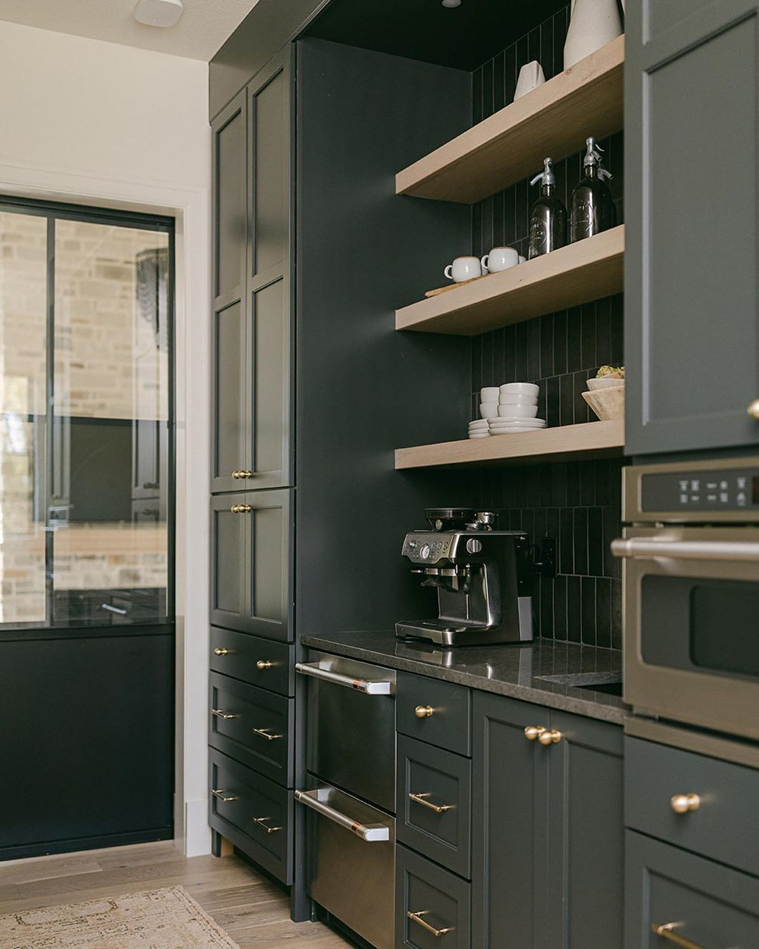 Black Birch Homes Design S Instagram Post Prep Kitchen Butler S Pantry Whatever You Call It We Re Glad We Went In 2020 House Design Prep Kitchen Butler S Pantry