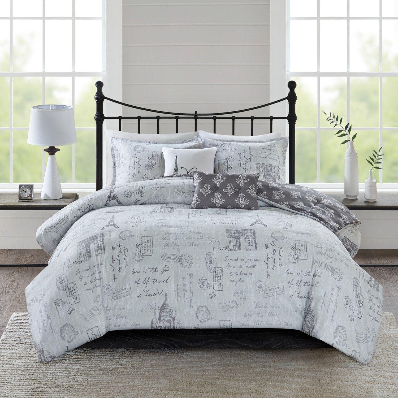510 Design Mariam 5piece Reversible Paris Comforter Set