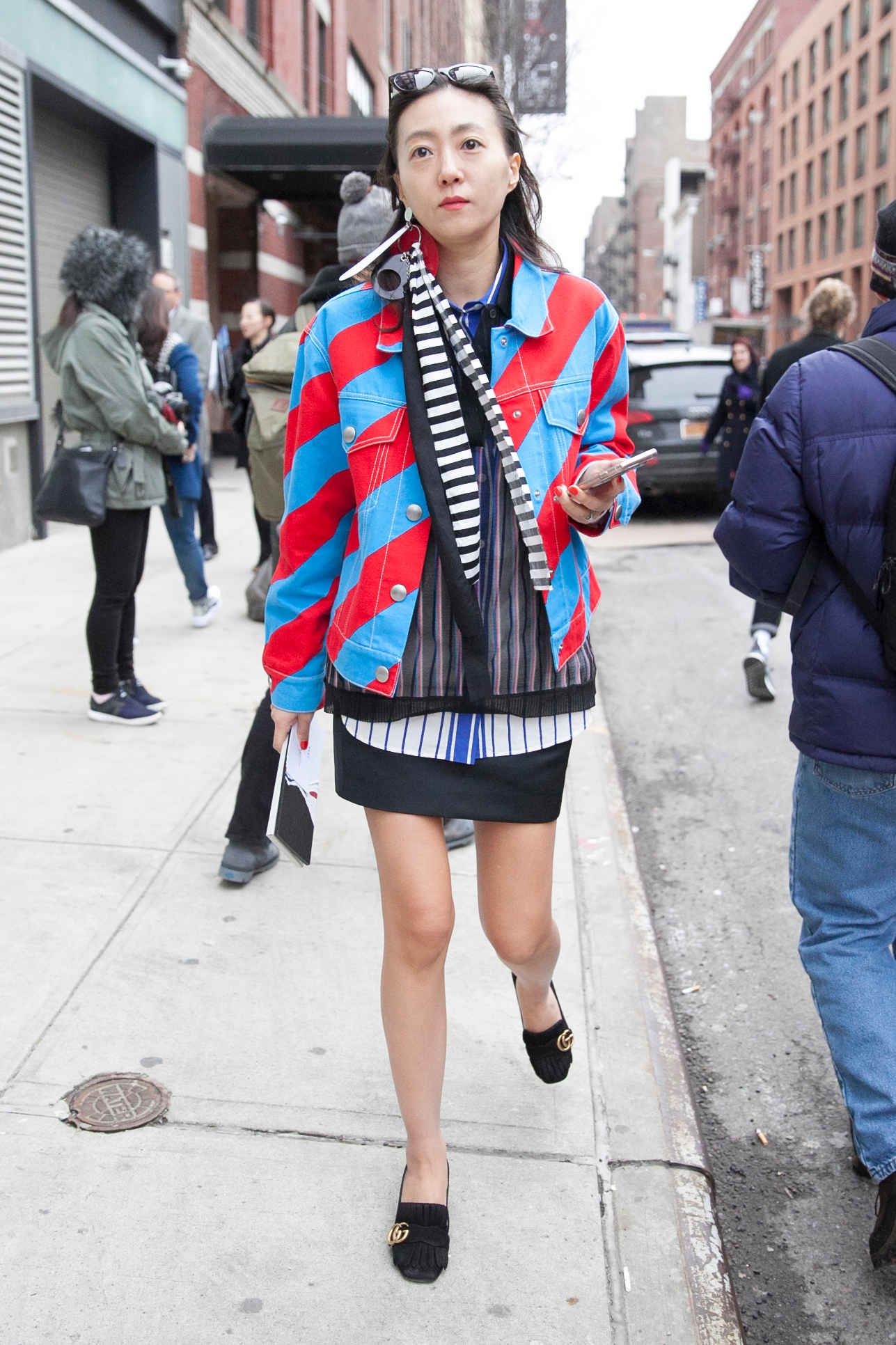 Statement Bomber Jackets Stood Out on Day 7 of NYFW - Fashionista