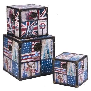 Customised Design wooden trunk wholesale Wooden trunks