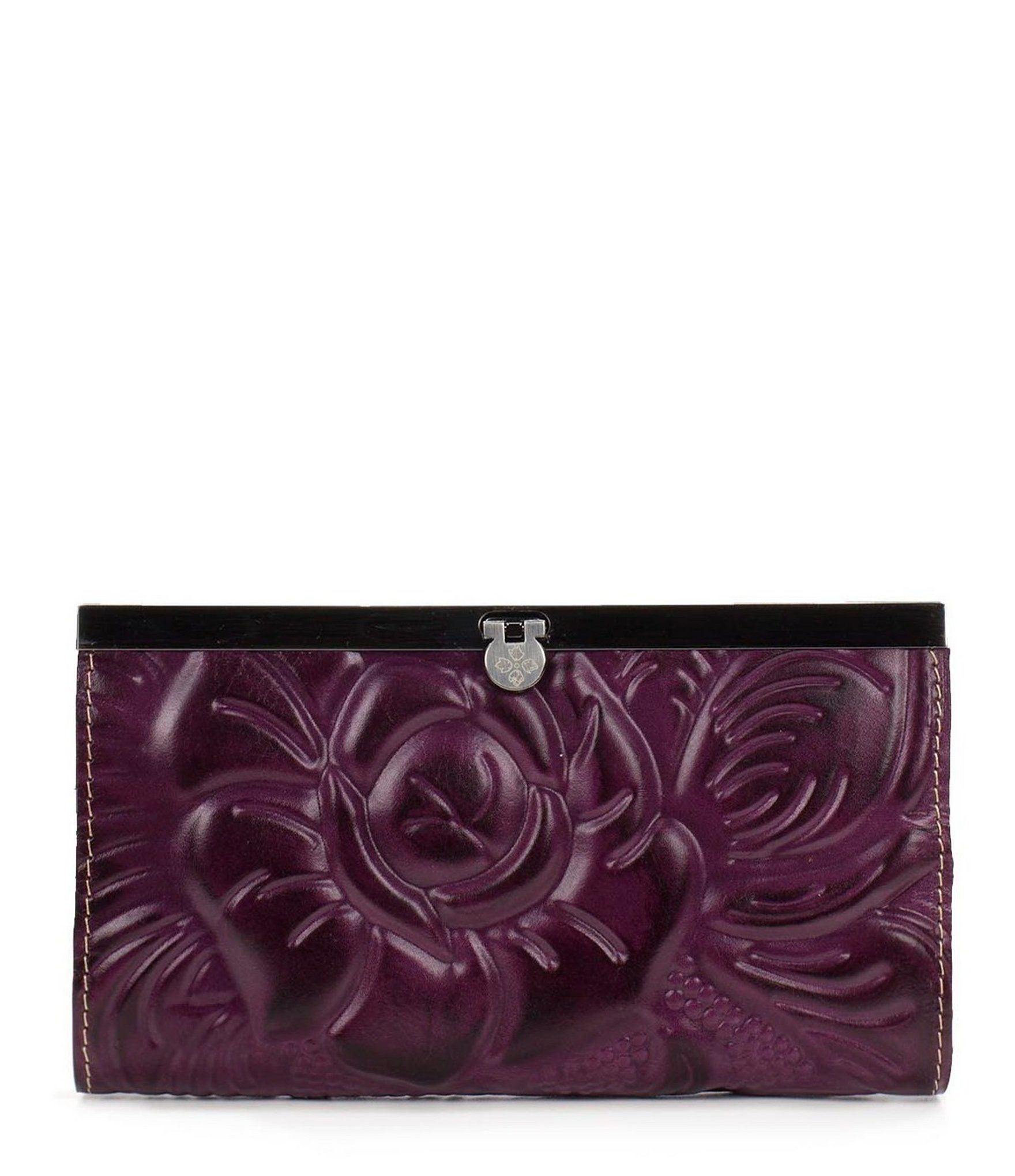 Patricia nash rose tooled floralembossed cauchy wallet patricia