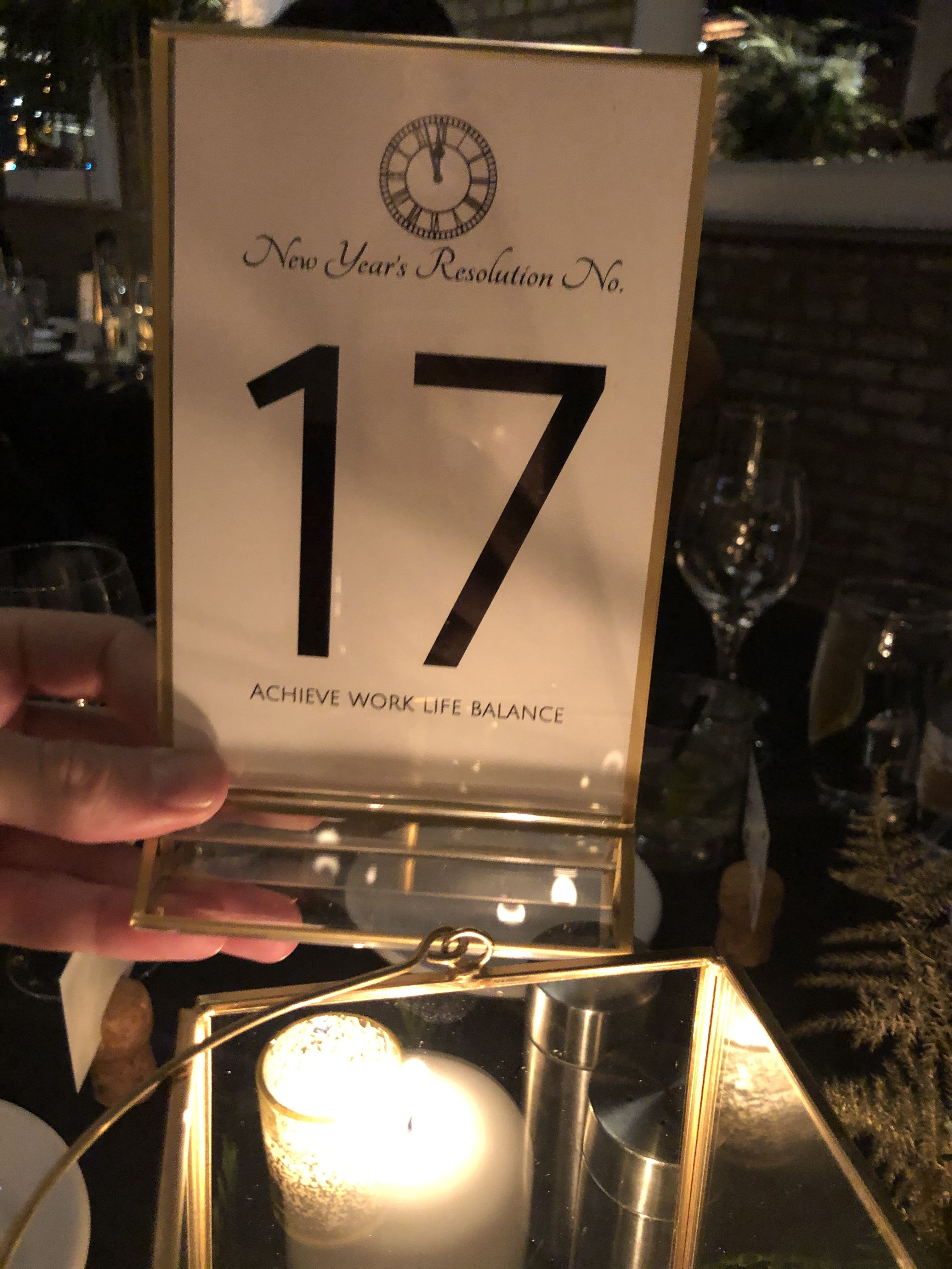 New Year's Resolution Table Numbers in 2020 (With images