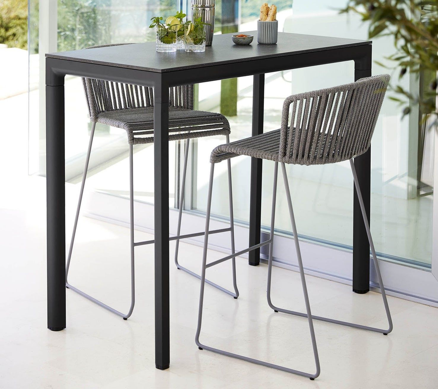 Drop Bar Table By Cane Line Now Available At Haute Living Bar