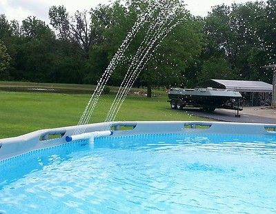 Pool Fountain For Intex Swimming Pools Ebay My Back Year Pool Ideas Pinterest Intex
