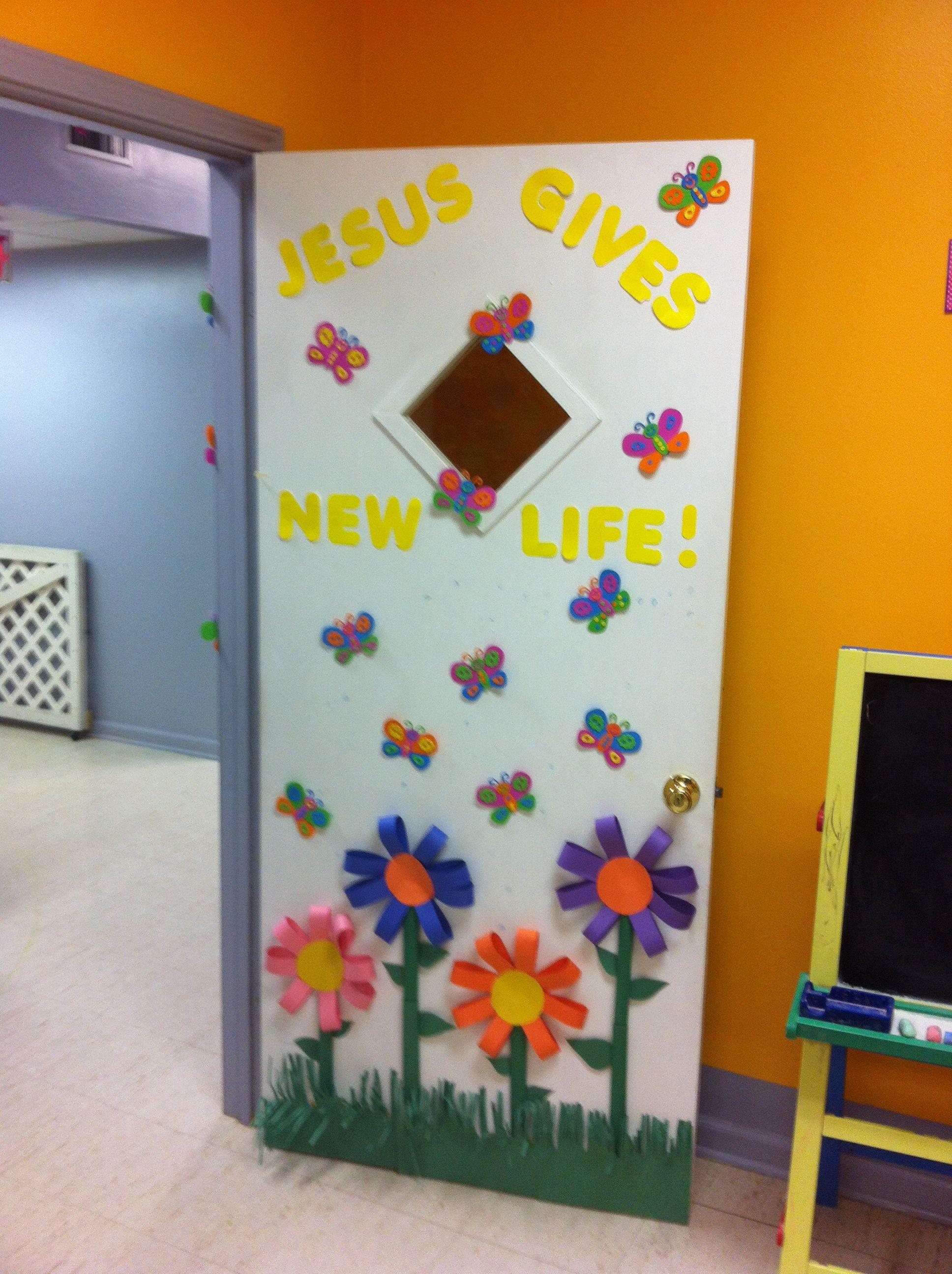 Cute Spring Summer Door Idea School Door Decorations Spring