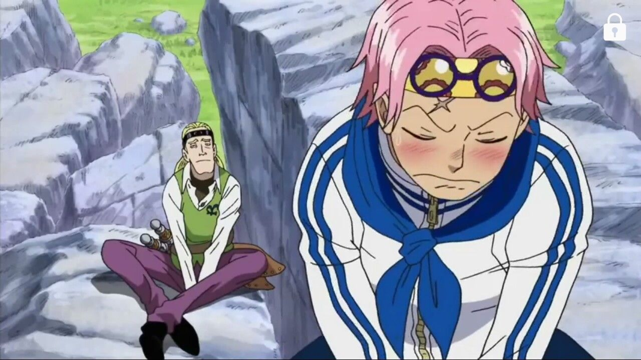 Coby, Helmeppo, blushing, funny; One Piece