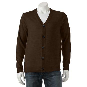Apt. 9 Modern-Fit Button-Front Cardigan - Men | Groom | Pinterest ...