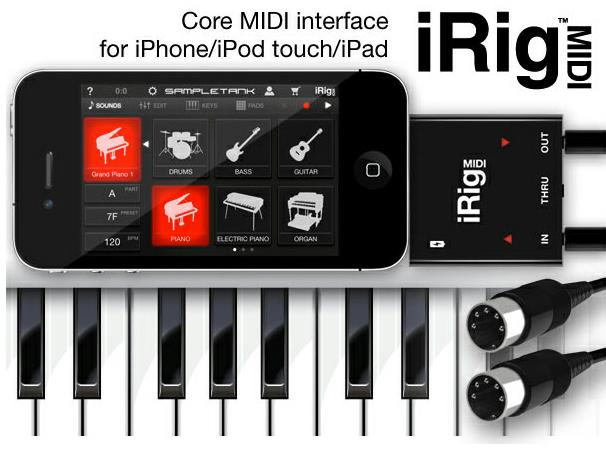 400개 이상의 악기, 900메가 사운드 라이브러리. 애플전용 아이릭 미디 음악, 악기