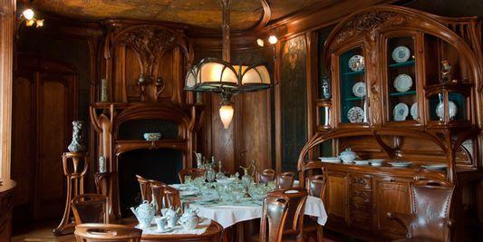 Art Nouveau Dining