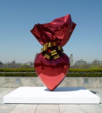 Sacred Heart (Red/Gold)- Jeff Koons