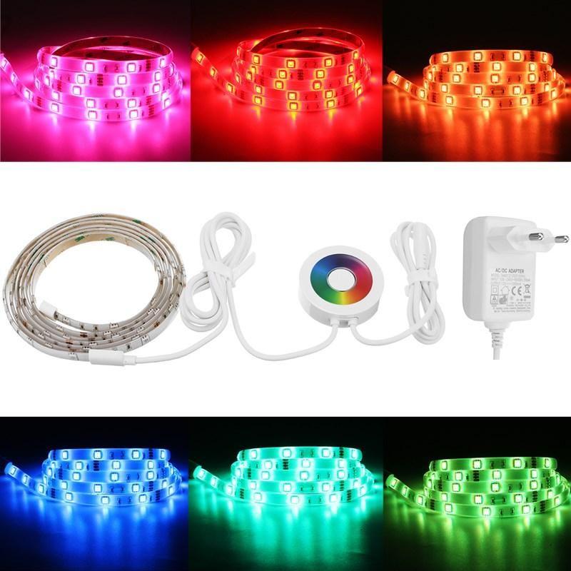 2M Waterproof Smart Wifi RGB LED Strip Light Touch APP