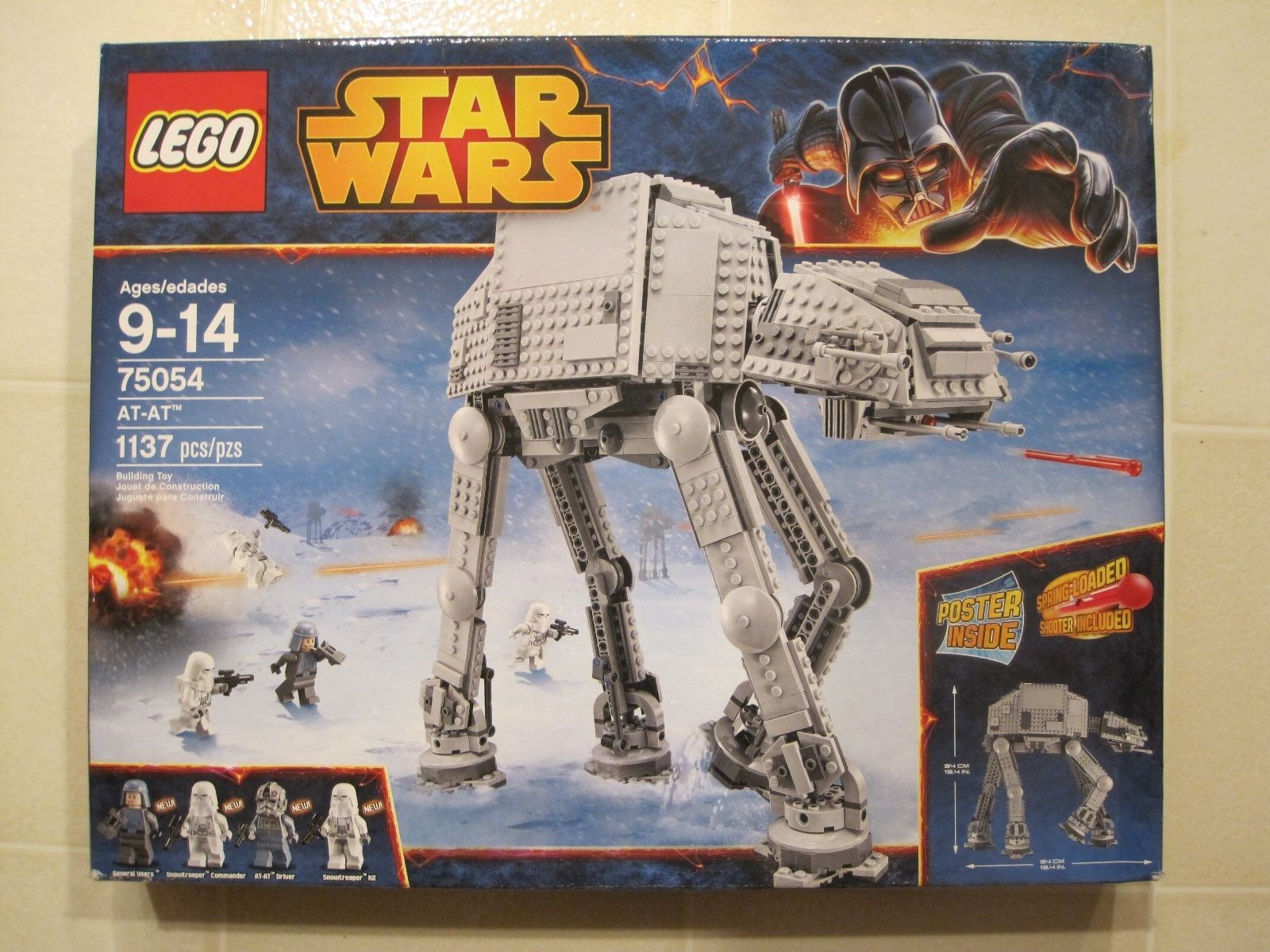 NEW IN BOX LEGO STAR WARS AT-AT BUILDING TOY 75054 https://t.co/9JTtZaxSUt https://t.co/KsEA5hIu3u
