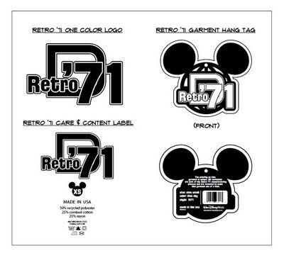 Vintage Disney Logos