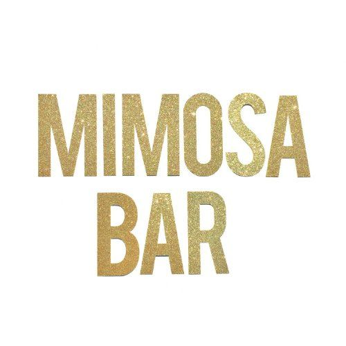 Mimosa Bar Banner Sign // Bridal Shower Banner Decor // Bachelorette Party Banner // Engagement Party Decoration