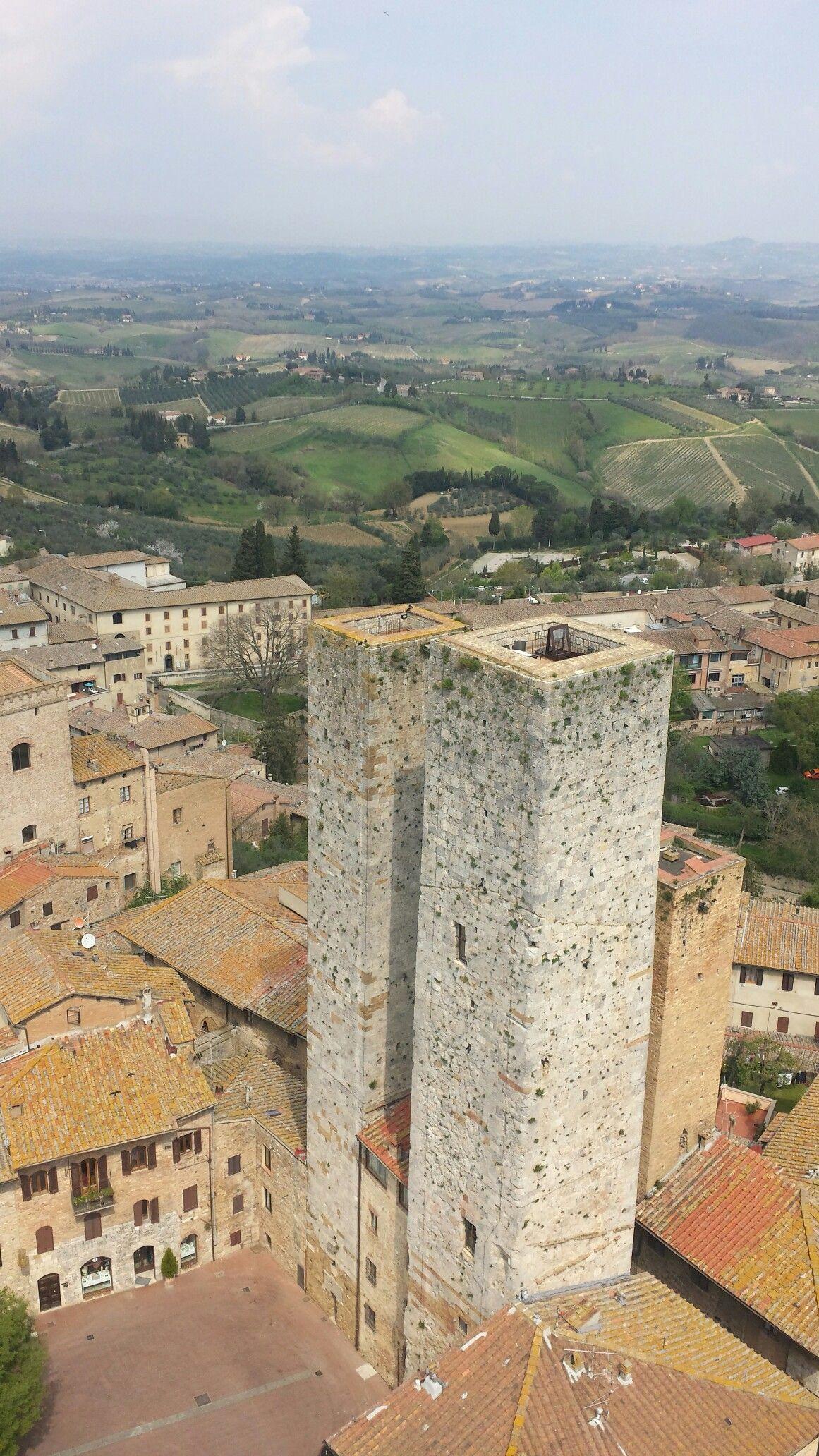 San Gimignano, Tuscany. Italy