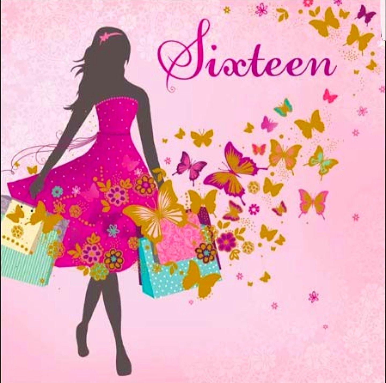 Sweet Sixteen greetings Pinterest