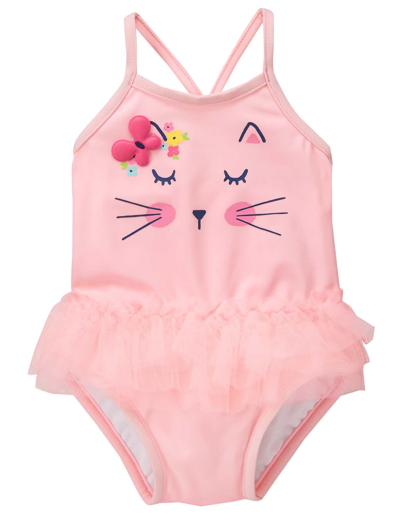 0be996b8d2425 Kitty 1-Piece Swimsuit. Kitty 1-Piece Swimsuit Baby Outfits Newborn,  Newborn Toys, Toddler Girls ...