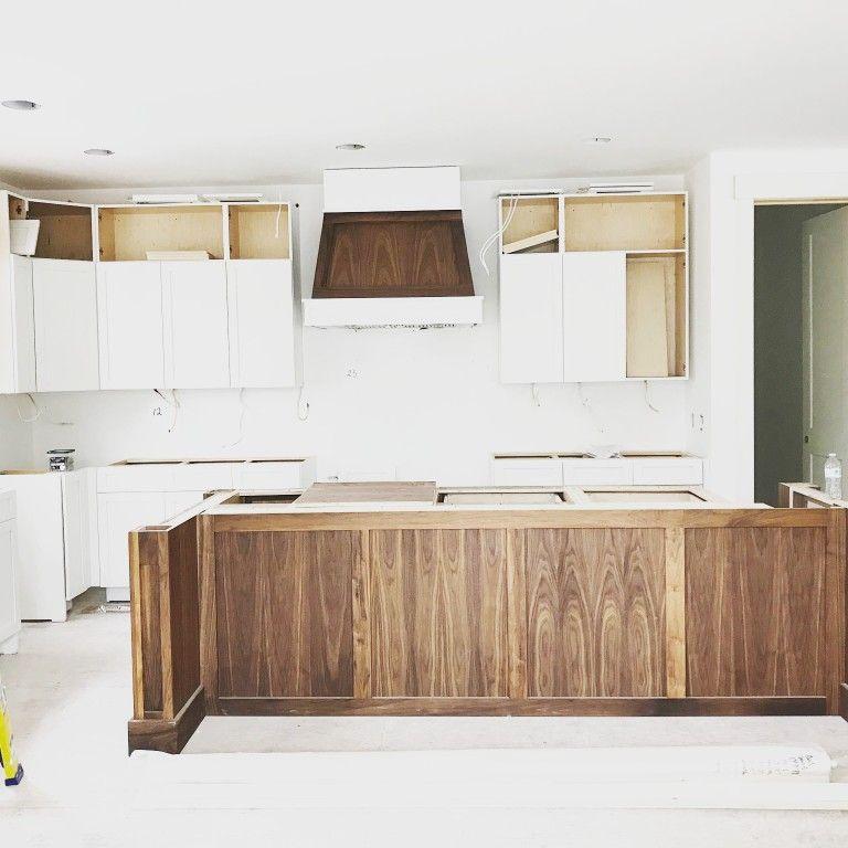 Black Walnut Kitchen Island Custom Built By Northeast Furniture Studio Walnut Kitchen Walnut Kitchen Island Home Decor