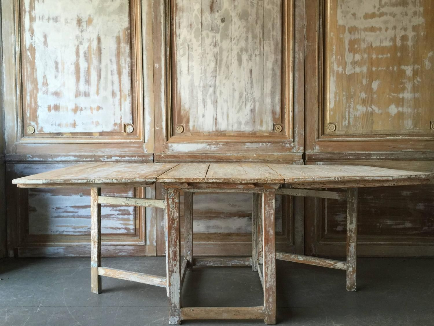 Swedish gateleg table ironwork Pinterest