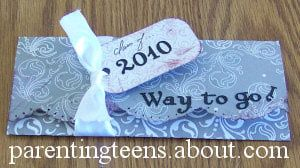 Make a Money Holder Graduation Card