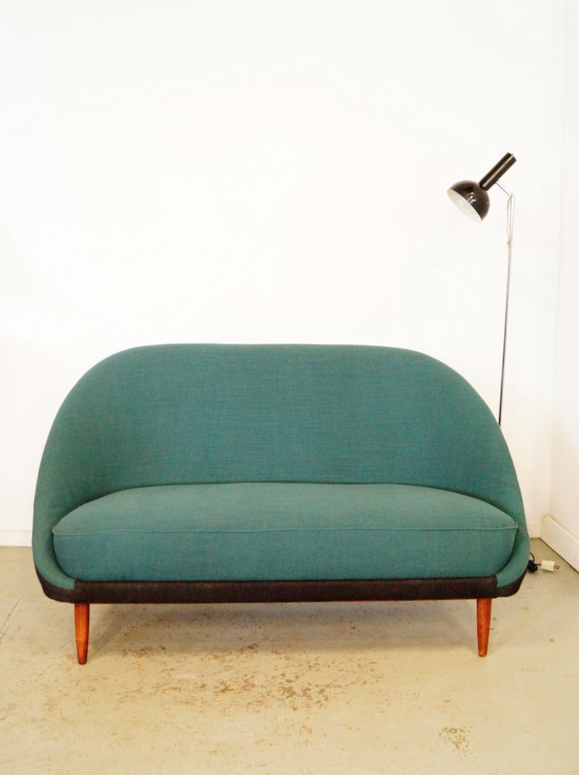 Theo Ruth; #115 Sofa for Artifort, 1950s.