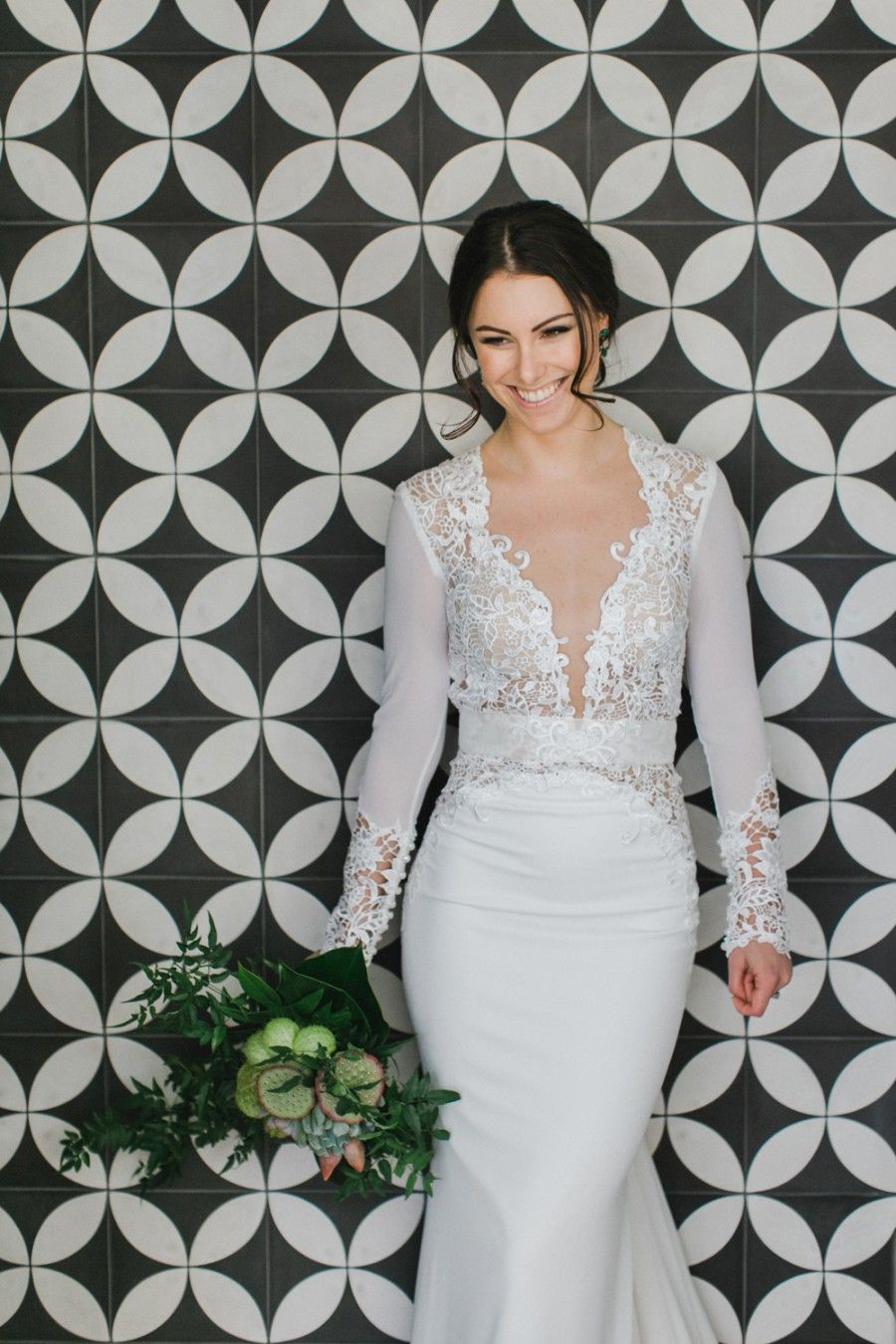 Amy's wedding dress  Berta Bridal wedding gown  Photography by John Benavente  wedding