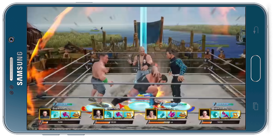 Free Wwe 2k Battlegrounds Apk Download Mobile Android Phone Ios Game Installer Obb Ios Games Wwe Wwe Game