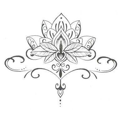 Flor De Loto Tattoo Tatuajes Tatuaje De Loto En Arte Del Tatuaje